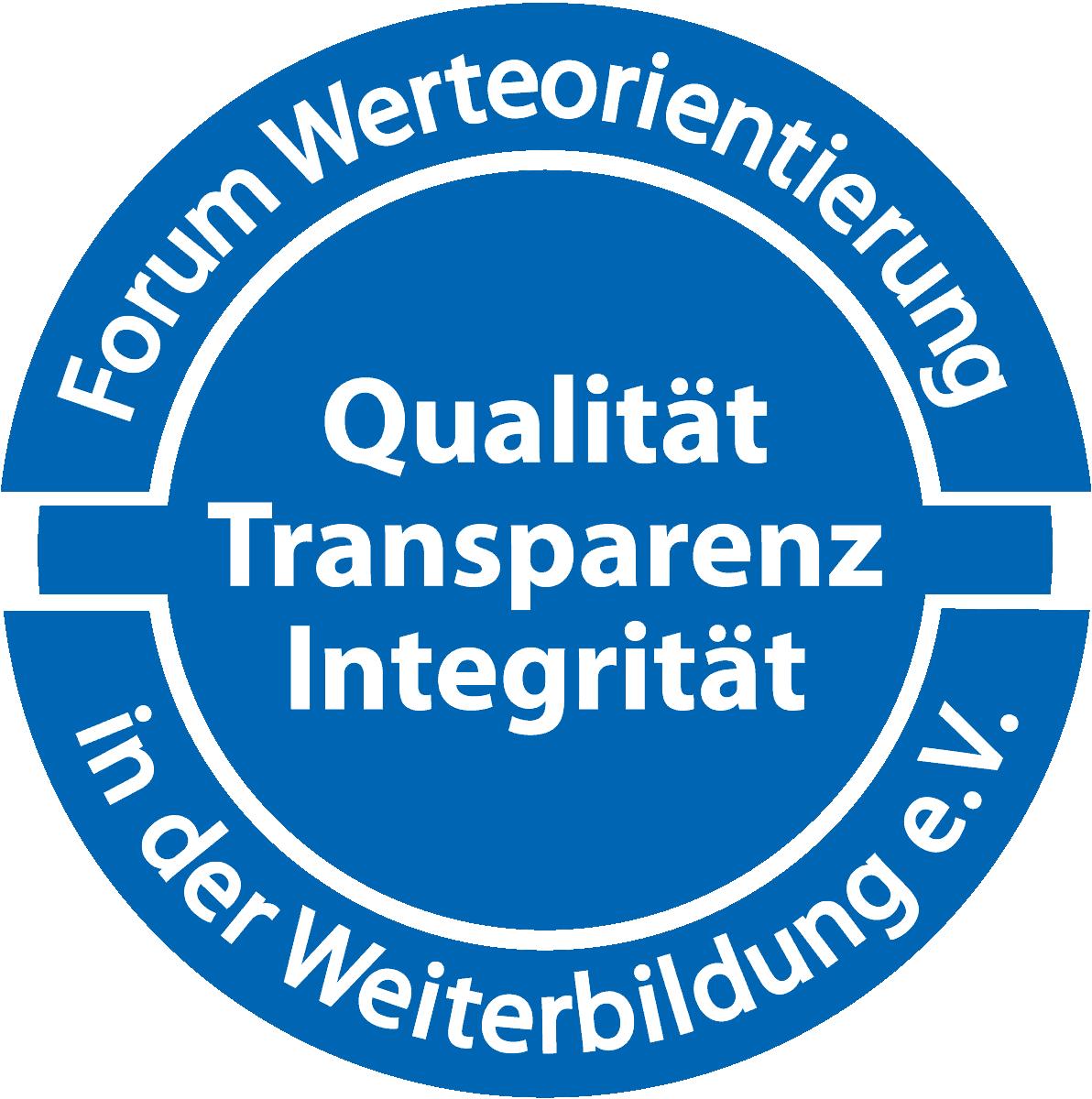 Siegel Forum Werteorientierung in der Weiterbildung e-V.