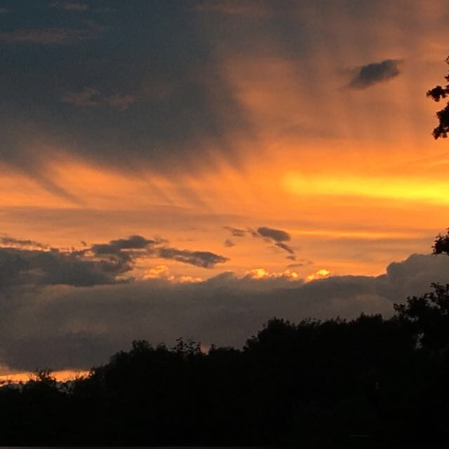 Sonnenuntergang - Veränderung